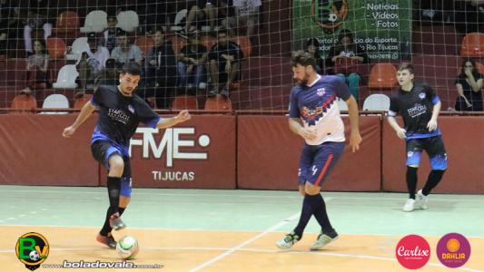 bb9d58eaa9 Dois jogos encerraram a primeira rodada do Futsal Série A de Tijucas 2018 -  Notícias - Bola do Vale