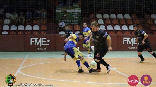 9d42a297f5 Resultados dos Jogos que Encerraram a 1° Rodada do Futsal Série B de Tijucas  2018 - Notícias - Bola do Vale